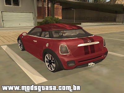 Mini Coupe Concept 2010 para GTA San Andreas