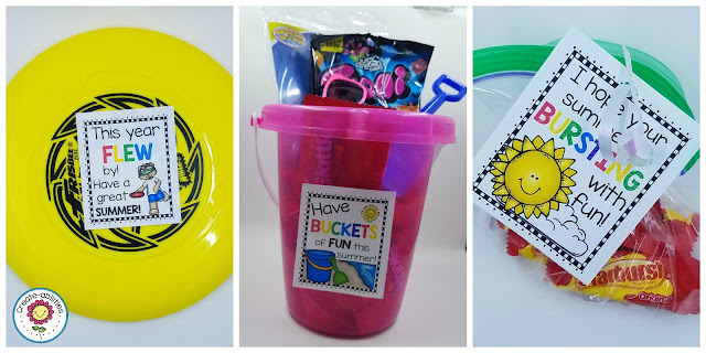 Frisbee, Bucket, and Candy Gift