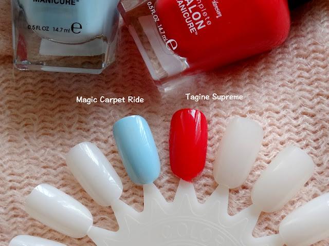 Sally Hansen Complete Salon Manicure Tagine Supreme And Magic Carpet Ride