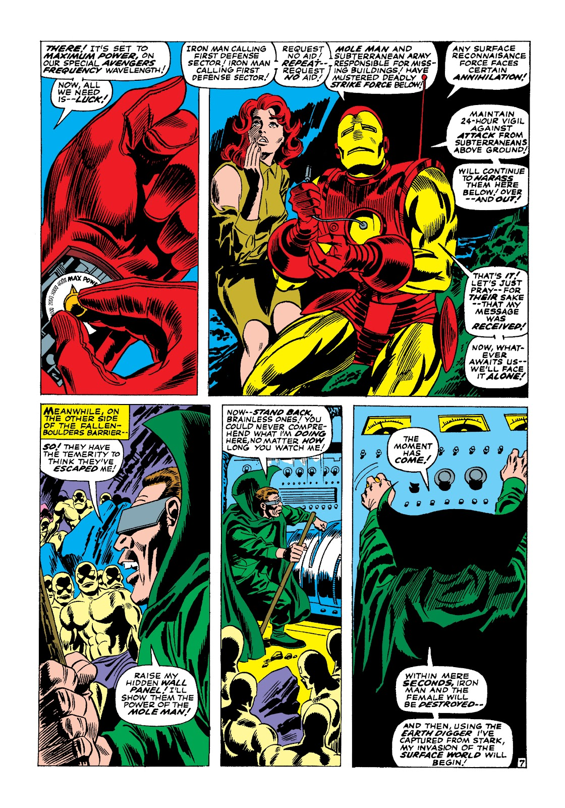 Read online Marvel Masterworks: The Invincible Iron Man comic -  Issue # TPB 4 (Part 1) - 65