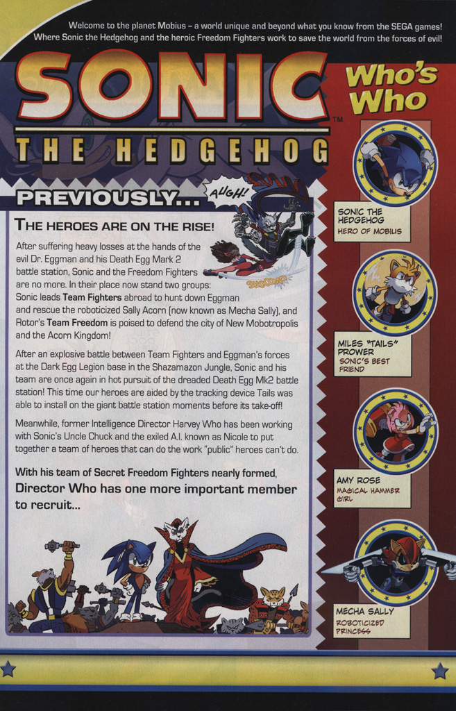 Read online Sonic The Hedgehog comic -  Issue #239 - 3