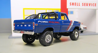 GreenLight  Ford Racing  1970 Ford F-100
