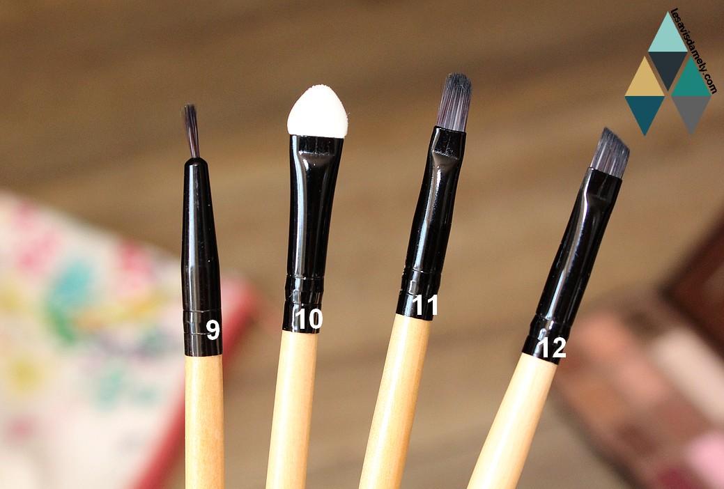 quel pinceau pour utiliser les fards à paupières ?