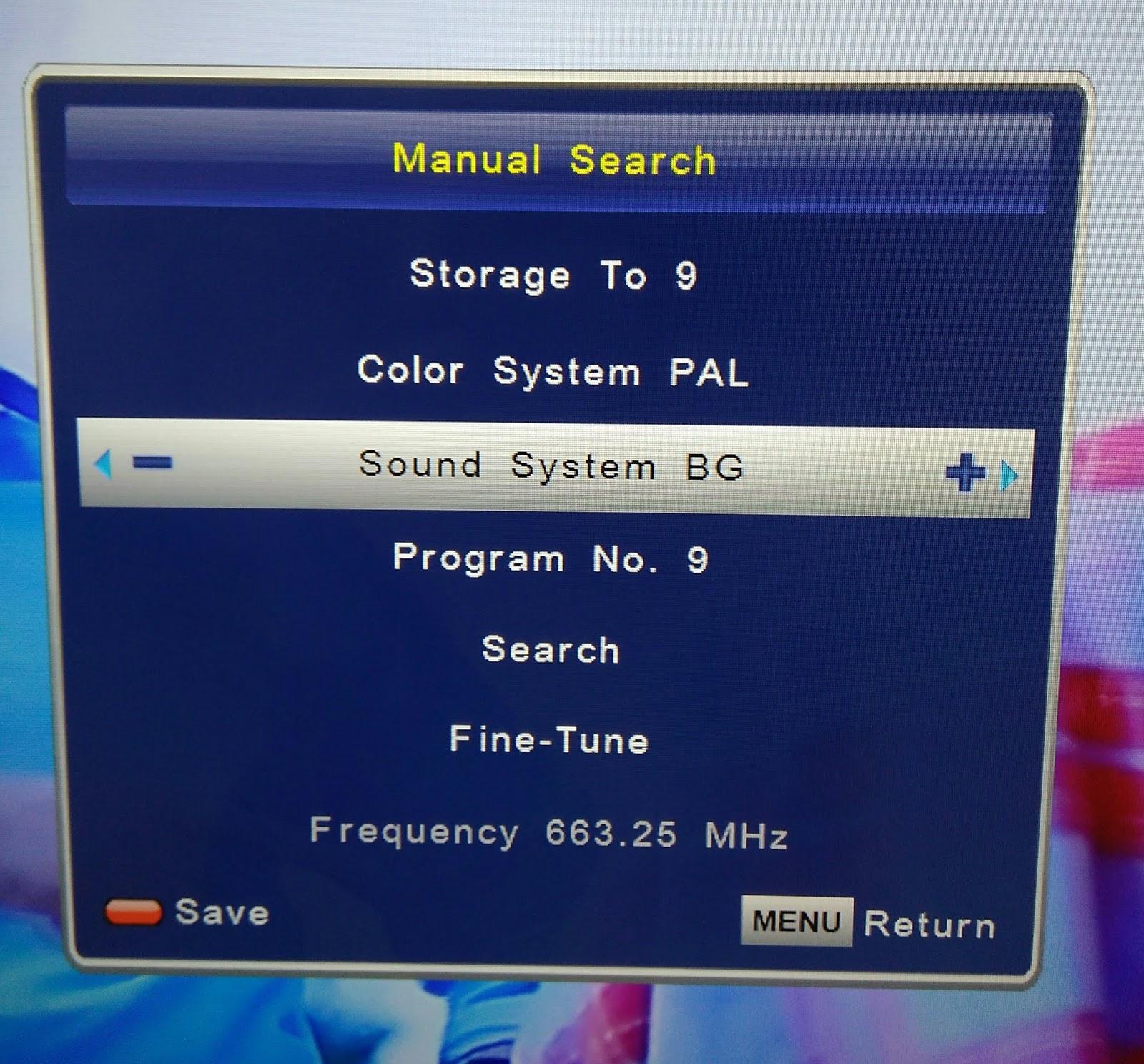 cara mencari chanel tv toshiba yang