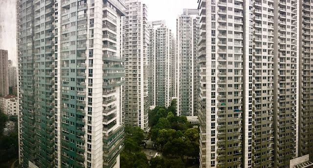 josé naranja views from my window in shanghai