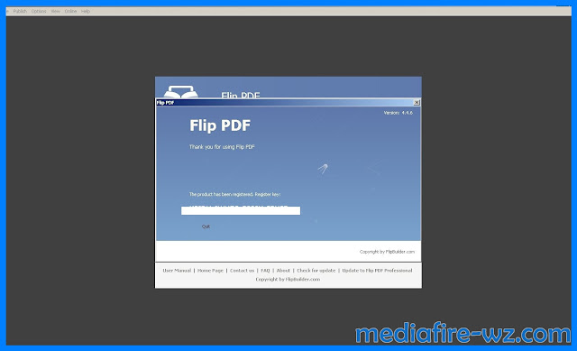 FlipBuilder Flip PDF 4.4.6 key tested