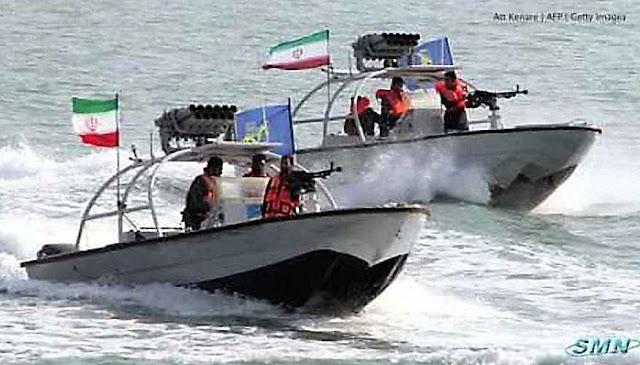 Lanchas iranianas do tipo que protagonizaram as provocações.