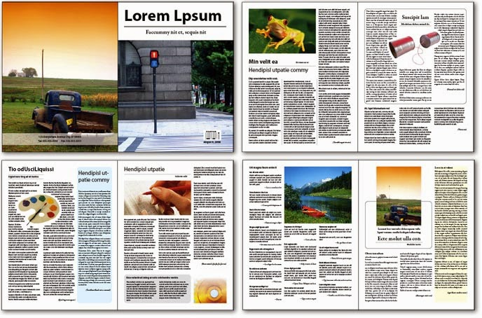 Ứng dụng Adobe Indesign trong thiết kế dàn trang báo chí