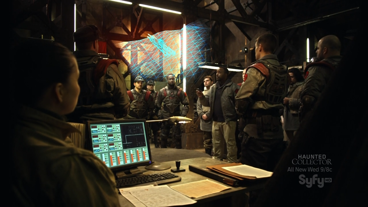 Red Faction Origins briefing before mission Mars