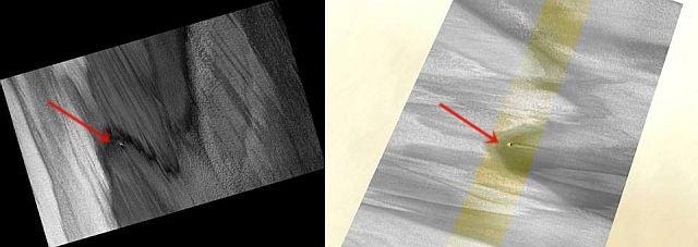 HIRISE captured Crashed UFO or Underground Base Entrance on Mars?  HIRISE%2BUFO%2Bentrance%2Bunderground%2Bbase%2BMArs%2B%25284%2529