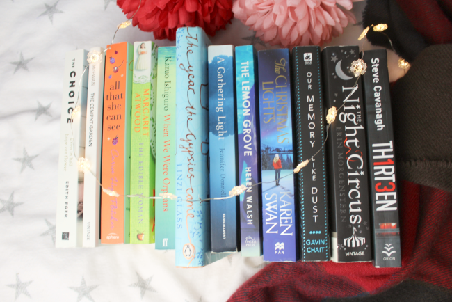 End of 2018 book haul - thrillers, YA fiction, fantasy and more