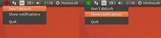 NoNotifications Ubuntu Linux programi trikovi
