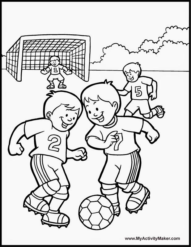 Dibujos Y Plantillas Para Imprimir Dibujos De Futbol Para Imprimir
