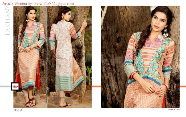 LSM Komal Kurti Collection for Winter 2014-2015