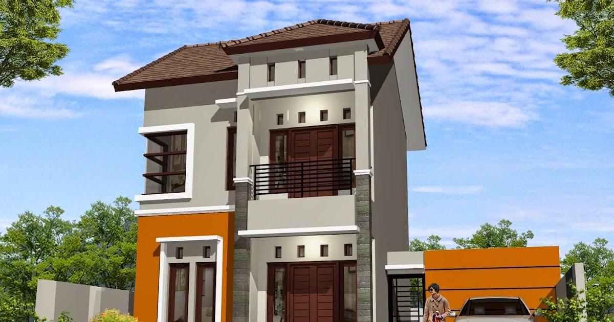 Desain Rumah Minimalis 2 Lantai Type 36/60, Ide Terpopuler!
