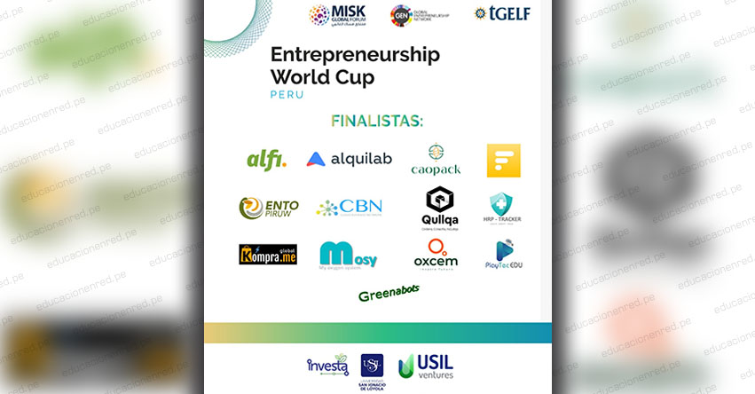 USIL: Trece Startups peruanas disputarán su pase al Entrepreneurship World Cup 2020