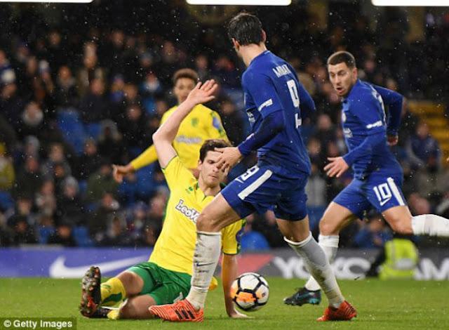 Video Chelsea - Norwich: Điên rồ 2 thẻ đỏ, đấu súng siêu căng thẳng