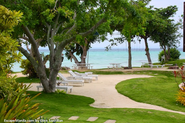 Ogtong Cave Beach Resort in Bantayan Island