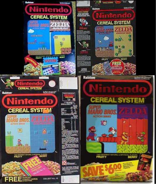 SATURDAY MORNINGS FOREVER: NINTENDO CEREAL SYSTEM