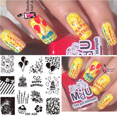 Easy birthday nail art ideas