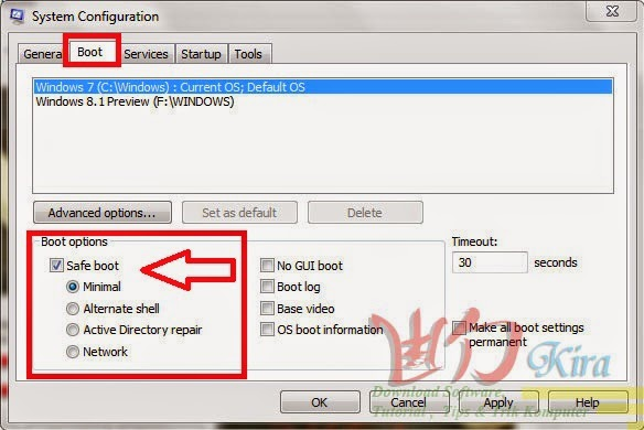 Wd-Kira, Dua Cara Masuk Save Mode  pada Windows,save mode pada Windows xp. vista, 7, 8, 8.1, Cara ampuh masuk save mode, cara mudah masuk Save mode terbaru 2014, masuk save mode tanpa f8