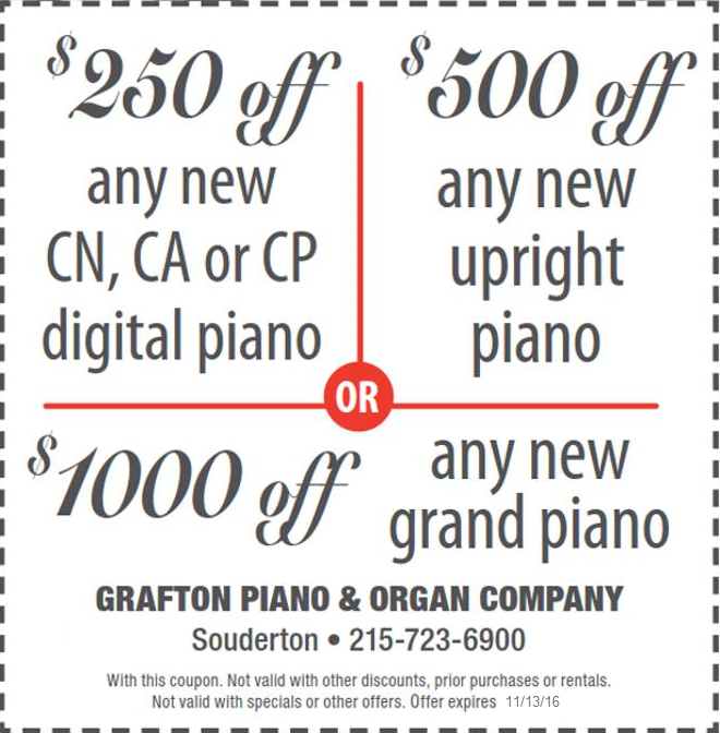 Piano coupon : Sat prep coupons