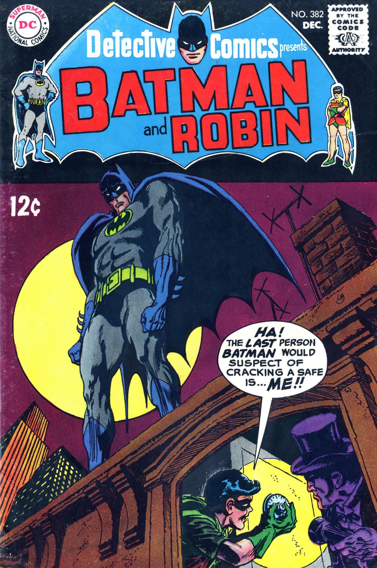 Detective Comics (1937) 382 Page 1