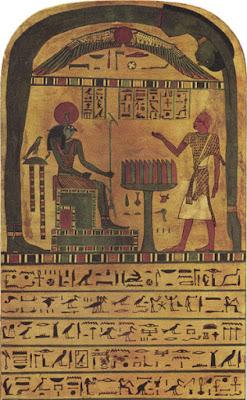 Estela da Revelação, Thelema, Nuit, Ra Hoor Kuit