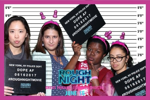 Girls Night Out at ROUGH NIGHT NYC Screening and Cast Q&A