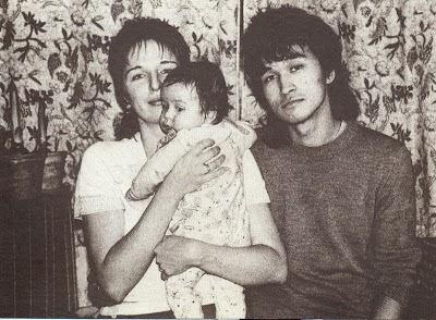 Марианна и Виктор Цой с сыном Сашей