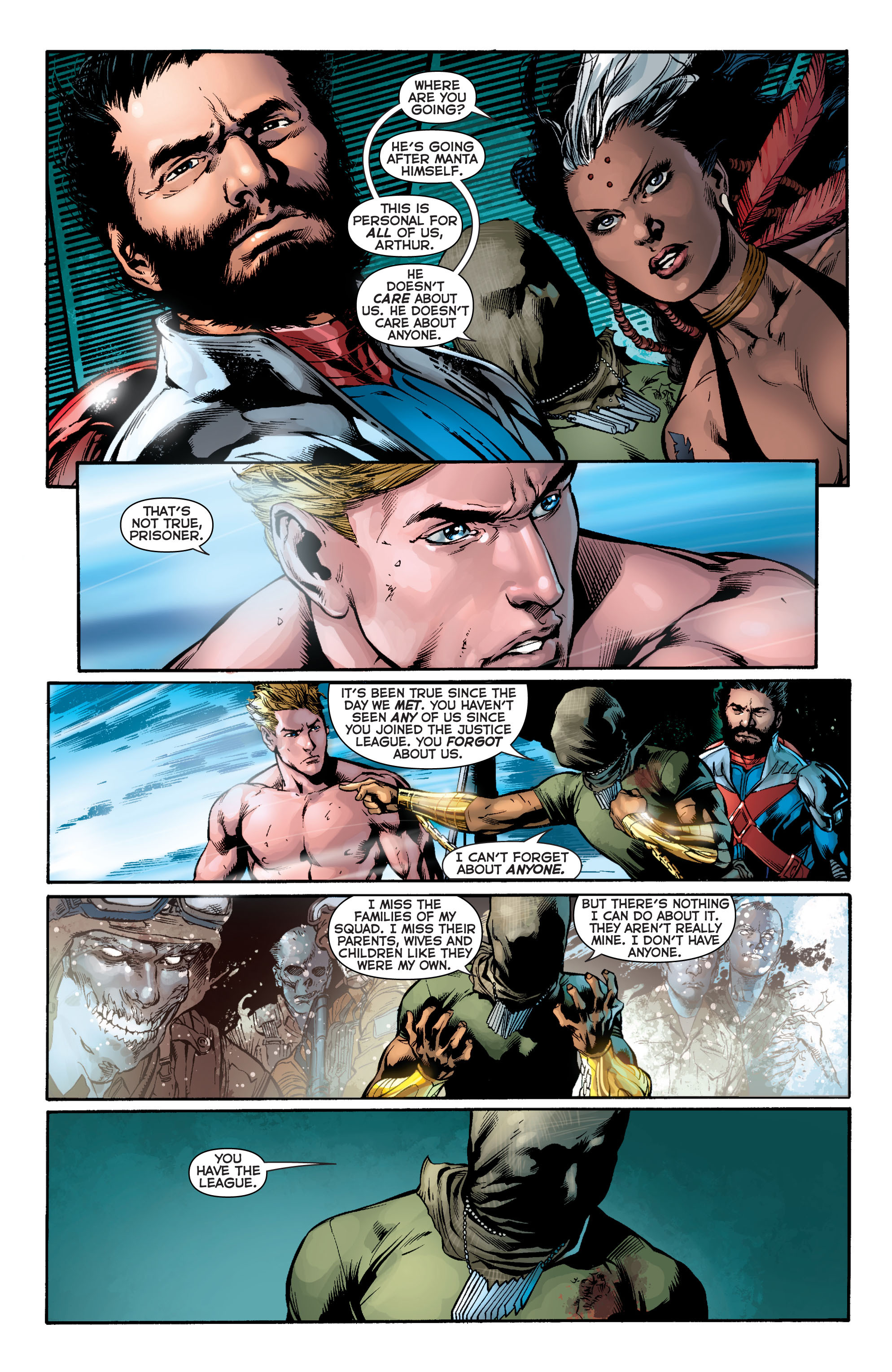 Read online Aquaman (2011) comic -  Issue #11 - 11