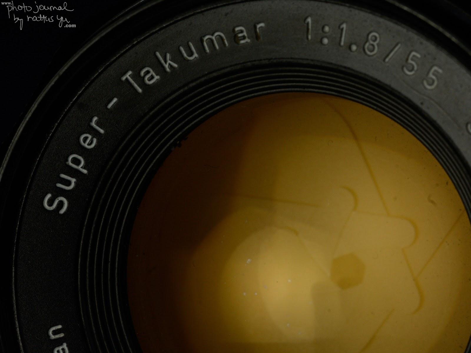 Super-Takumar 55mm f/1.8 with Infinity on Nikon DSLRs