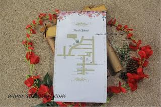 undangan bambu jasmin warna