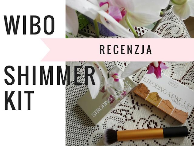 WIBO Shimmer Kit- paleta rozświetlaczy