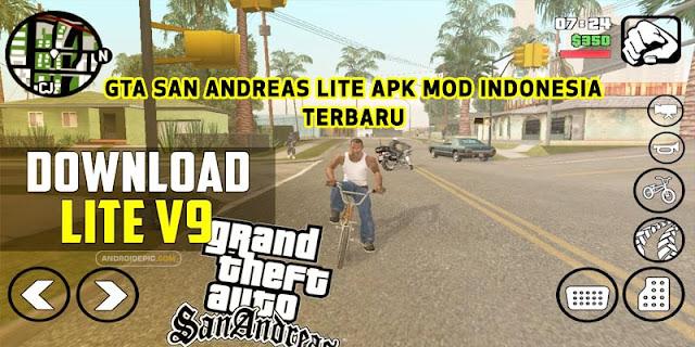 GTA SA versi mod ini merupakan modifikasi dari game console Playstation 2 yang di oprek sehingga dapat dimainkan di perangkat seluler.