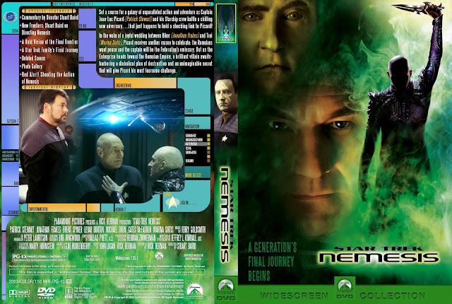 Capa DVD Star Trek Nemesis