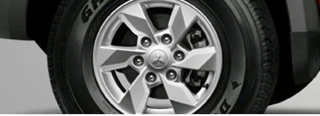 Alloy wheel All New Triton Gls