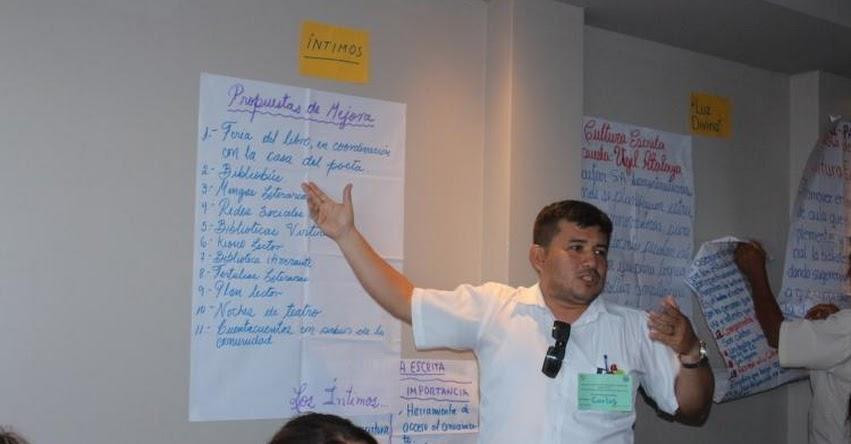 24 especialistas de DRE Ucayali y UGEL Atalaya fortalecerán capacidades para aplicar propuesta didáctica en lectura y escritura