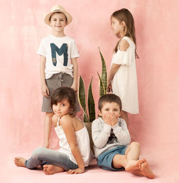 Moda 2018 para niños y niñas.