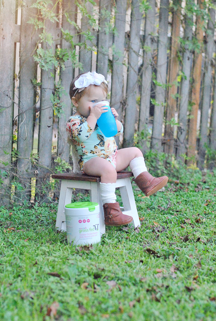 If you're in the same boat as us, you know how tough weaning can be. Check out six reasons you should choose Munchkin Grass Fed Milk during this time...