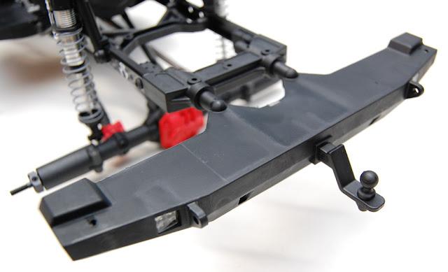 Axial SCX10 II rear bumper hitch