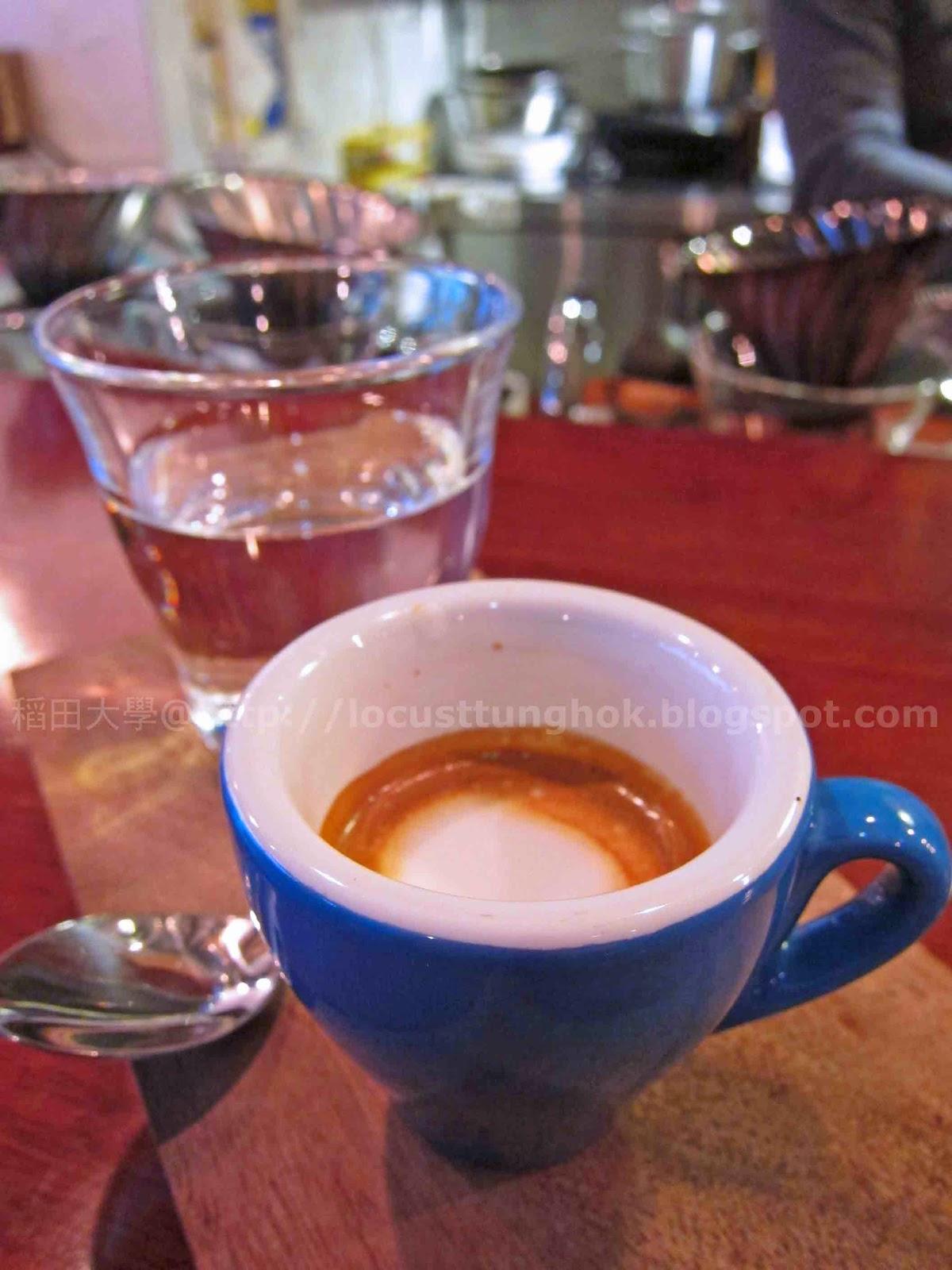 稻田大學‧吃喝玩樂系: 水滴石穿 @ Brew Note Coffee Roaster