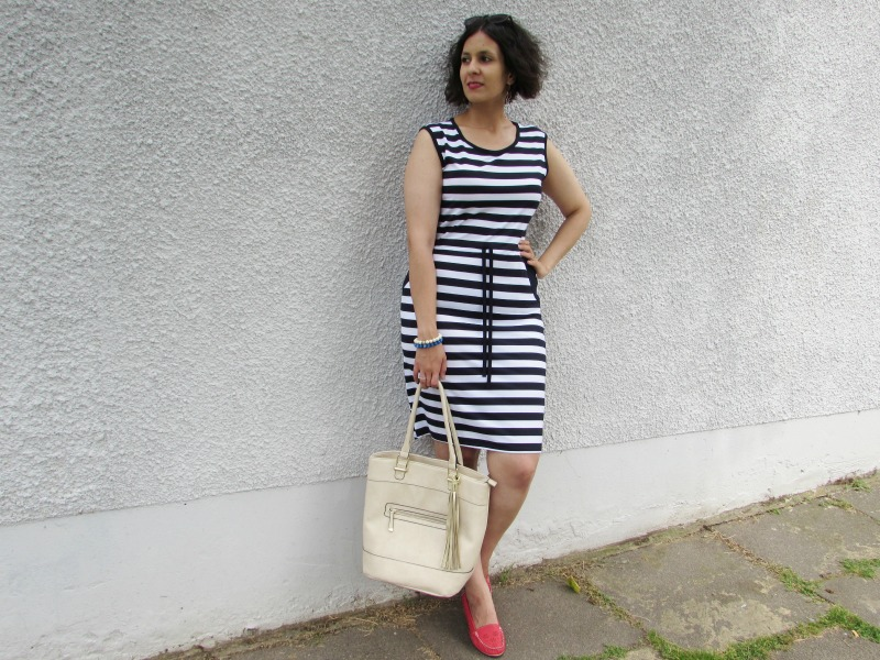 Breton dress for the summer