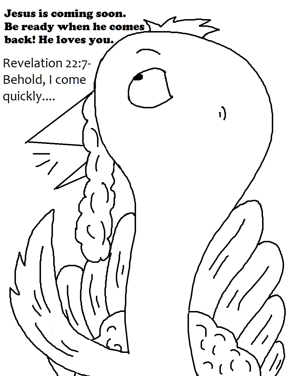 Church House Collection Blog: Turkey Coloring Pages
