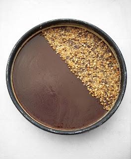 Tarte Sablée aux Cacahuètes, Crème Caramel & Chocolat