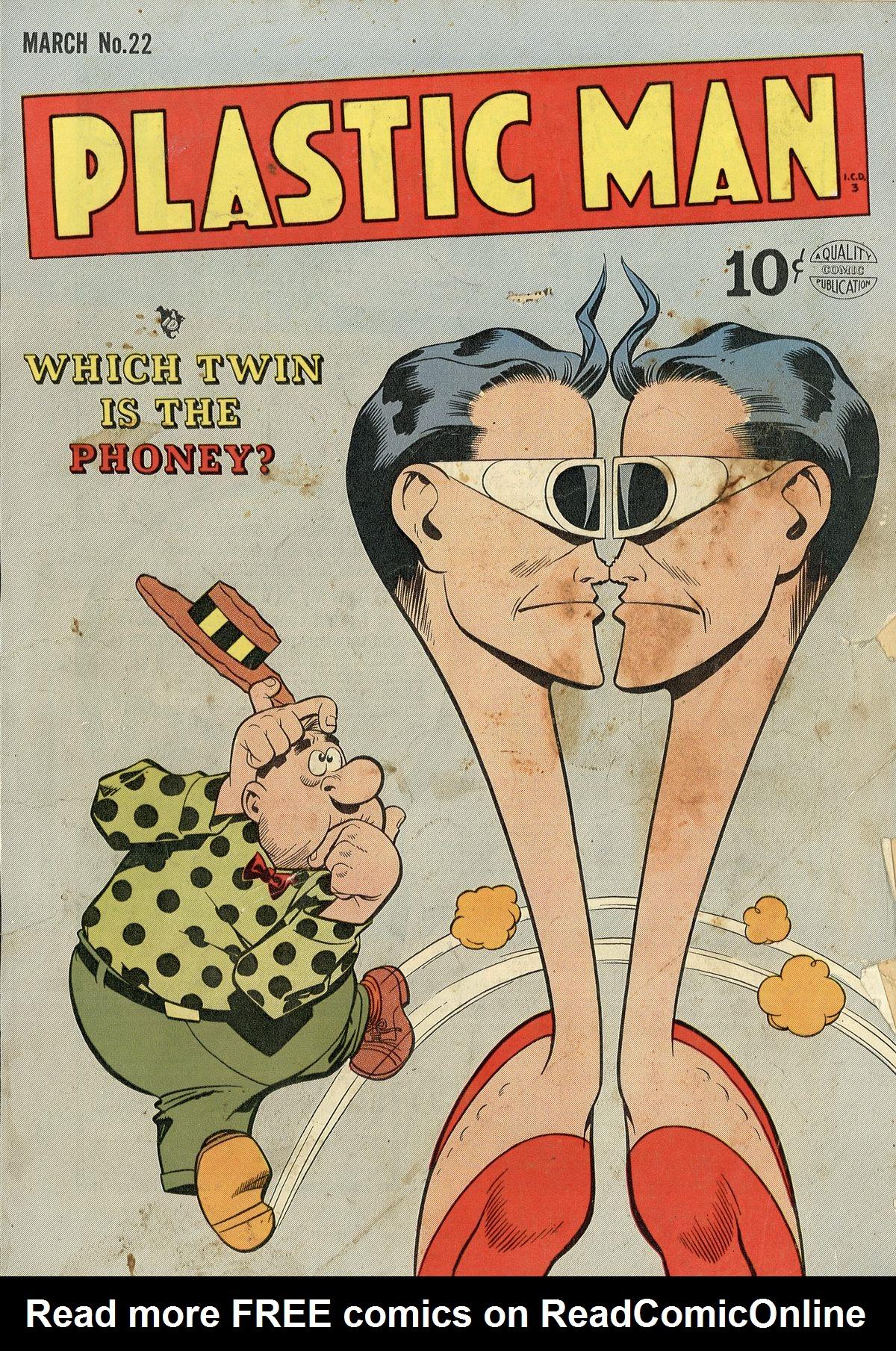 Plastic Man (1943) 22 Page 1