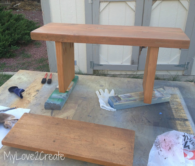 http://mylove2create.blogspot.com/2012/11/easiest-diy-bench-ever.html