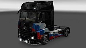 Russia Flag paint job for Mercedes MP4