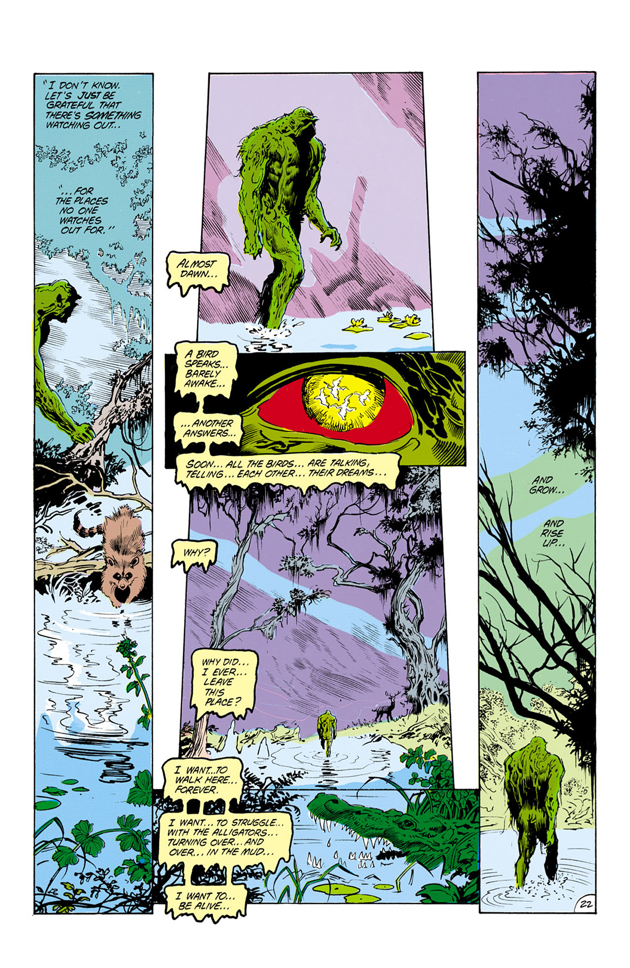 Swamp Thing (1982) Issue #24 #32 - English 23