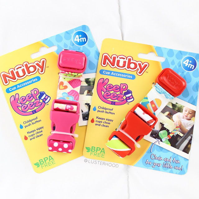 Nuby Keepeez Cup Catcher Review  |  Lusterhood